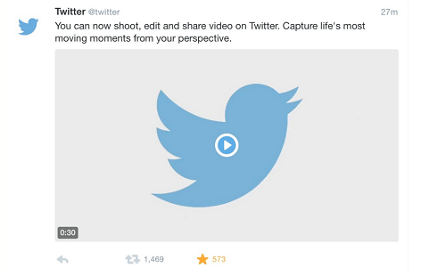 screenshot of video tweet